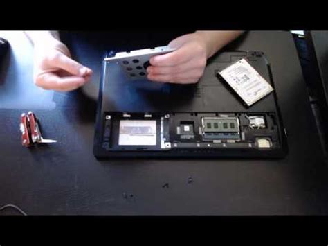 Hardisk Laptop Asus A42j how to replace upgrade to an ssd in an asus laptop