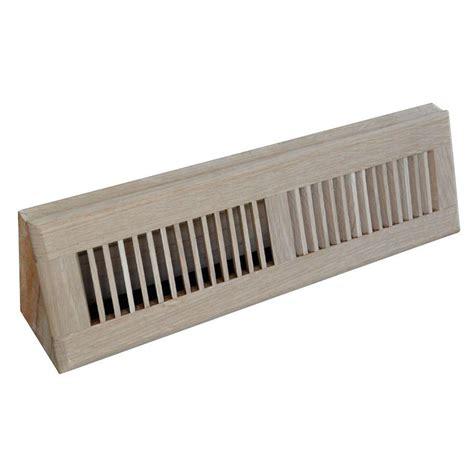 t a industries 18 in wood oak baseboard unfinished