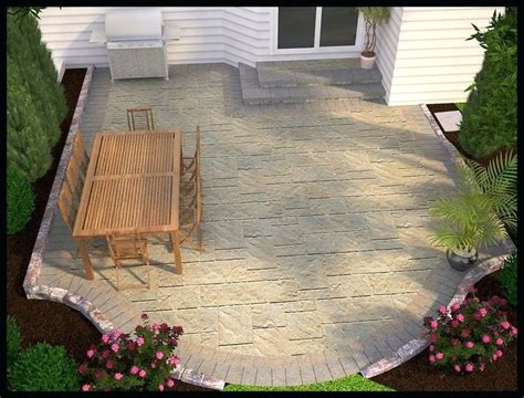 simple patio designs with pavers simple patio ideas bamstudio co