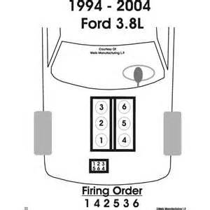 solved 94 mustang 3 8 v6 need wiring diagram for spark fixya