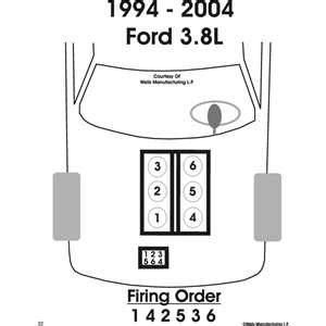 2001 ford mustang spark wire diagram wiring diagrams