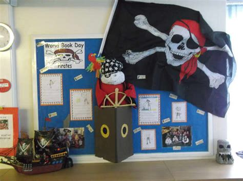 pirates world book day pirate books display classroom