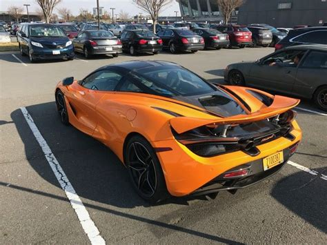 custom mclaren 720s first mclaren 720s in the us spotted in virginia traffic