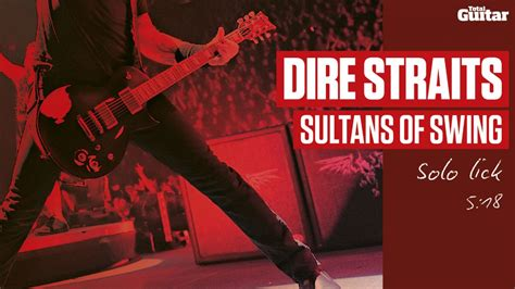 sultans of swing band dire straits sultans of swing technique focus tg218