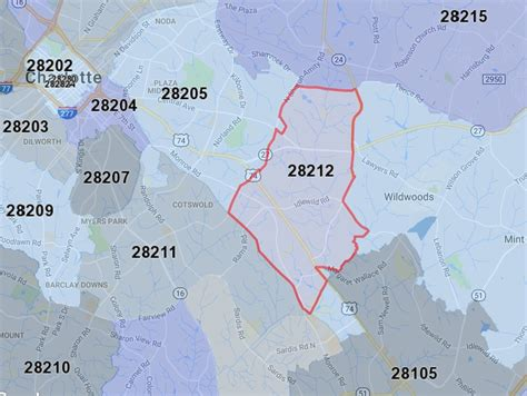 zip code map for charlotte nc charlotte nc s quot hottest quot zip codes for home prices