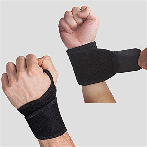 Wrist Thumb Brace Support Wrap Band Sports Badminton Elasticstret eveshine reversible sports wrist brace fitted right left import it all