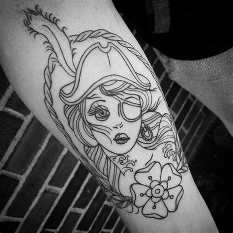 pirate girl tattoo designs 40 pirate tattoos
