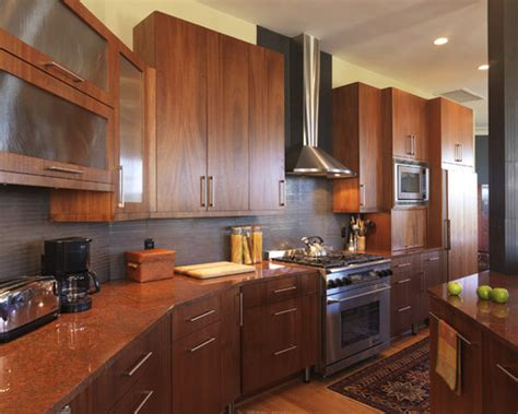 flat panel kitchen cabinets flat panel oak kitchen cabinets