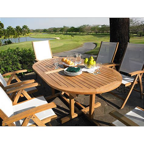 72 outdoor dining table camden teak 72 quot oval dining table