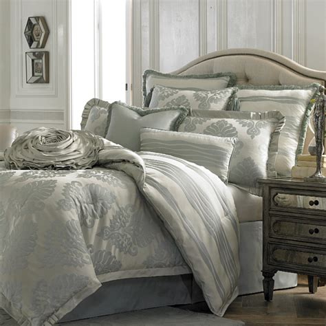 upscale bed linens abby luxury bedding set a michael amini bedding