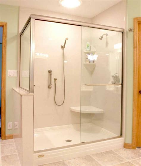 Walk In Shower Designs For Small Bathrooms by Take A Seat Shower Seating Design Ideas Furniture