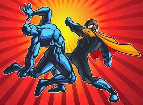 illustration superheroes vector  gratis master