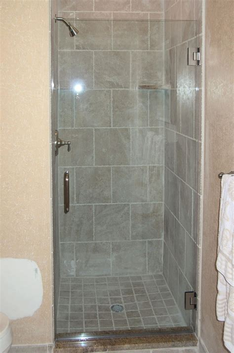 Single Glass Shower Door Single Shower Door Update But With Frosted Glass Diy Shower Doors Doors And