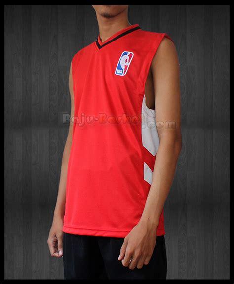 desain baju basket keren desain kaos basket nba merah jb 18