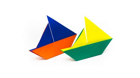 Sailboat Origami - origami sailing boat 28 images how to make a sail boat