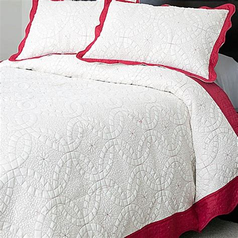 embroidery design nottingham nottingham home collection lydia 3 piece embroidered quilt