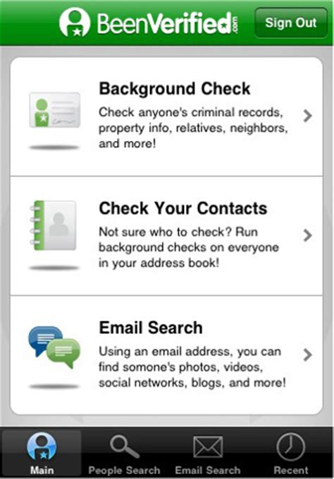 Free Background Check App Background Check App For Iphone Does Exactly What You Think It Does Intomobile
