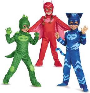 pj masks costumes catboy gekko owlette halloweentopia