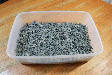 how to litter a how to make cat litter in home 7 steps with pictures
