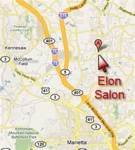 map of kennesaw salon in kennesaw 233 lon salon kennesaw salon