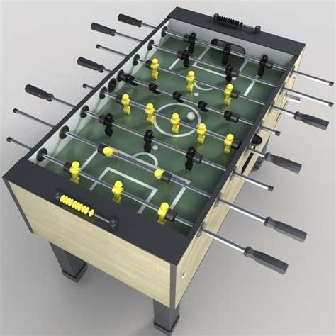 foosball table setup foosball table 3d max