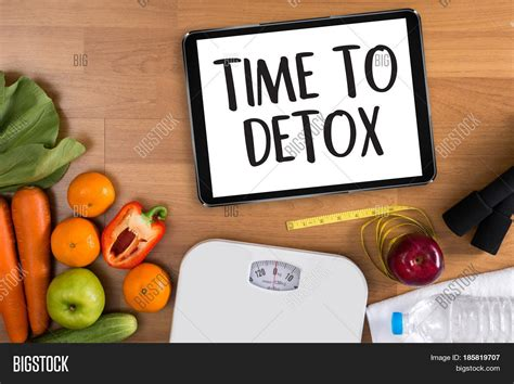 Detox Time From by Time Detox Fitness Weight Loss Image Photo Bigstock