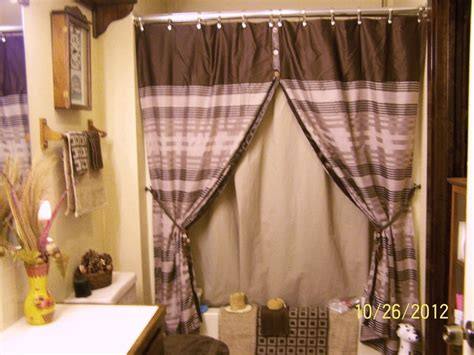 Shower Curtains With Tie Backs Pin By Naples Ireton On Bathroom Ideas
