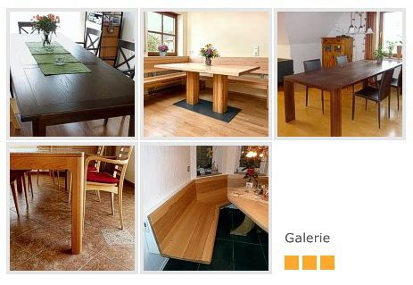 Handgefertigte Esszimmer Tische by Werke Hobel Span