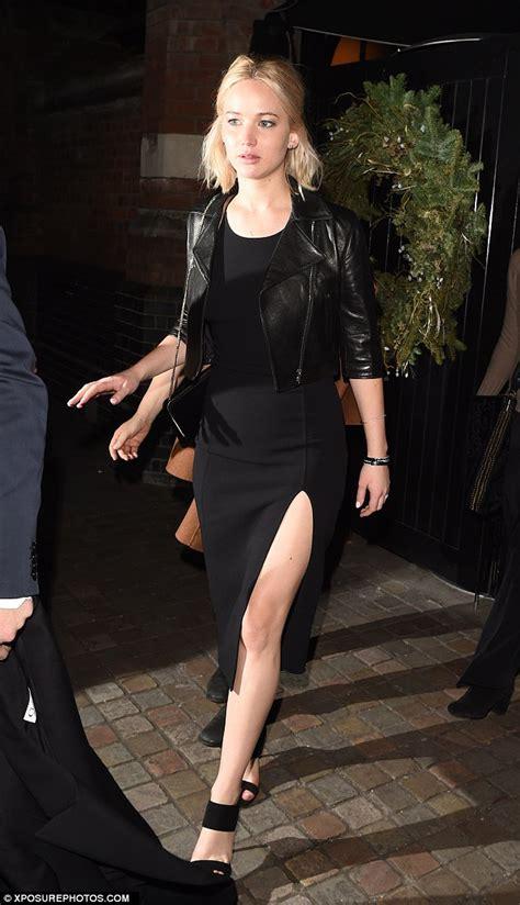 J45 Selena Ribbon Sweet Dress showcases lithe legs as she heads