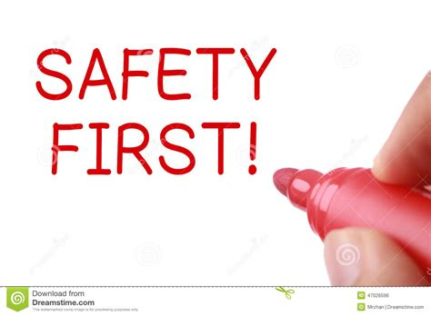 safety first stock image image 35138181 safety first stock photo image 47026596