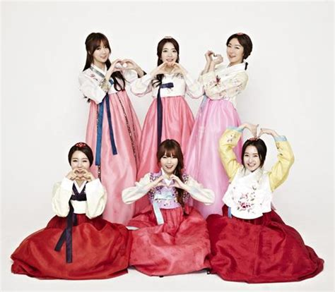 new year traditional clothing see which k pop idols are saying happy new year in their
