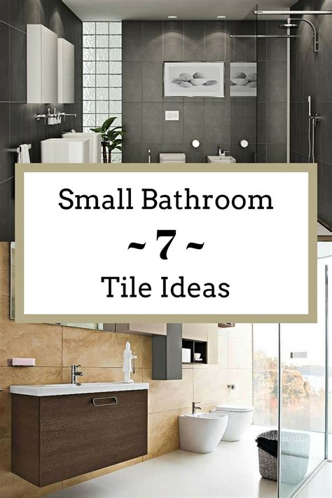 Ideas For Bathroom Tile Small Bathroom Tile Ideas To Transform A Cred Space