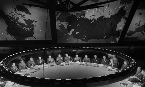 Dr Strangelove War Room by Bigger Than The Work Of Ken Adam Berlin Journal
