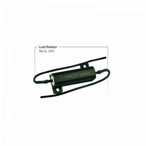12 volt resistor for led 12v led load resistor dummy load resistor