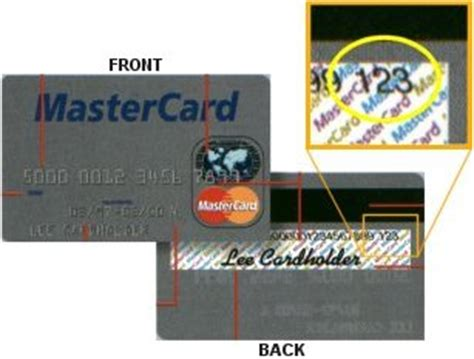 Where Is The Card Number On A Mastercard Gift Card - credit card verification