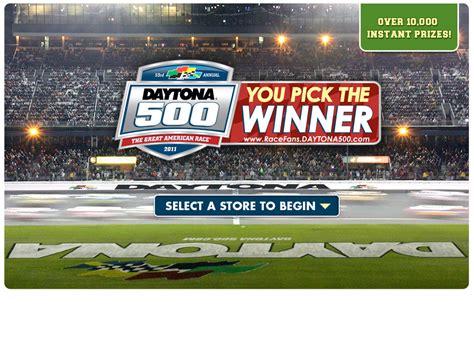 Daytona 500 Money Winnings - kroger daytona 500 instant win game