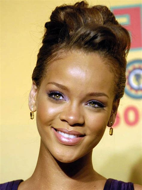rihanna updo hairstyles amazing rihanna hairstyles and haircuts random talks