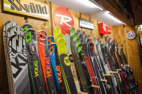 scandinavian ski and snowboard shop