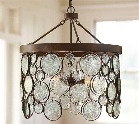 recycled glass chandelier emery recycled indoor outdoor bronze glass chandelier