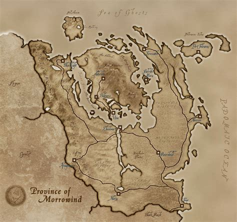 morrowind map elder scrolls morrowind map www pixshark images galleries with a bite