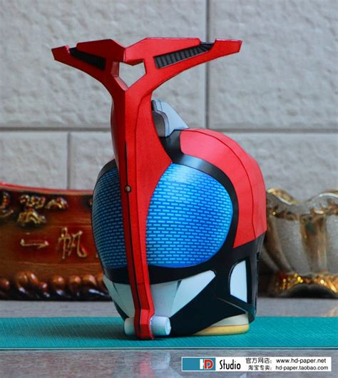 Kamen Rider Helmet Papercraft - 3d paper model kamen rider helmet 1 1 wearable