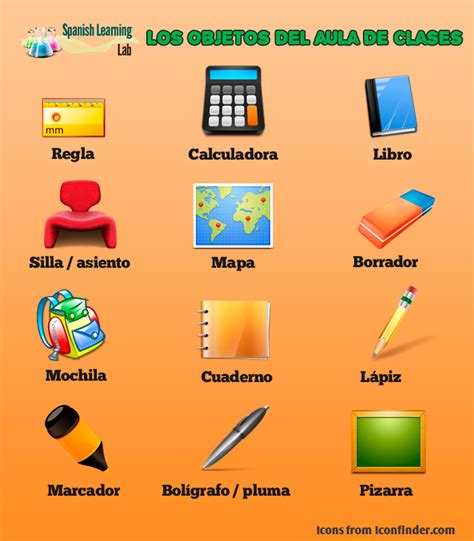 imagenes en ingles de objetos los objetos del aula en espa 241 ol lista y oraciones