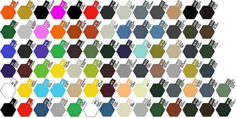 tamiya color chart tamiya 3 4oz paint bottles flat acrylic