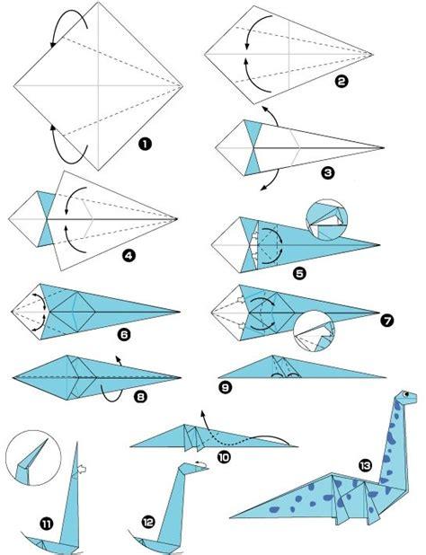Origami Dinosaur Easy - le catalogue d id 233 es