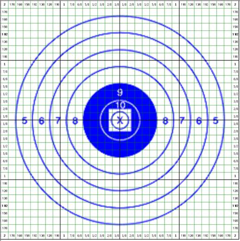 printable ibs targets 1000 yd moa target to adjust scope