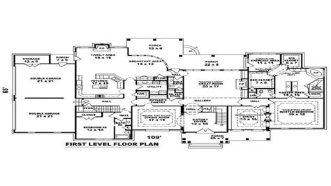 mansion floor plans mega mansion floor plans large house floor plans house