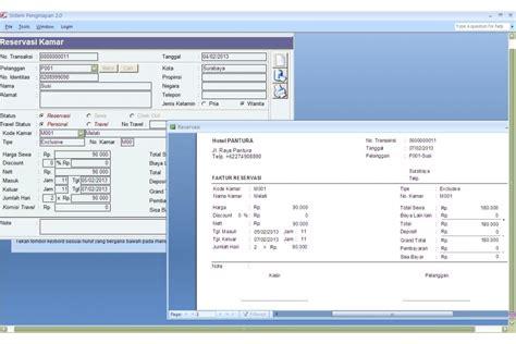 Hotel Front Desk Software Free by Software Front Office Untuk Hotel Dan Penginapan