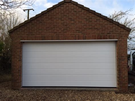 sectional door installation insulated sectional door installation in gloucestershire