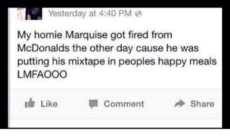 Can You Get Fired For Applying To Other 25 Best Memes About Happy Meals Happy Meals Memes