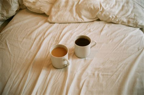 coffee in bed art bed brown coffee morning image 155896 on favim com